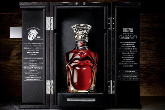 suntory releases limited edition the rolling stones 50th anniversary whisky uvnam